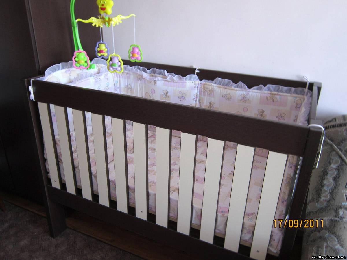 Кровать новорожденного своими руками чертежи