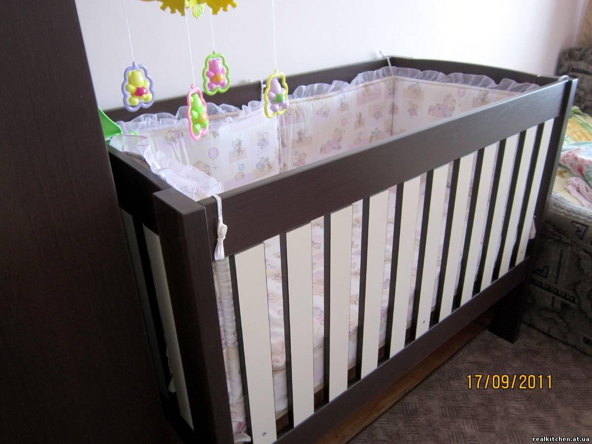 Кроватки для новорожденных своими руками из дерева фото