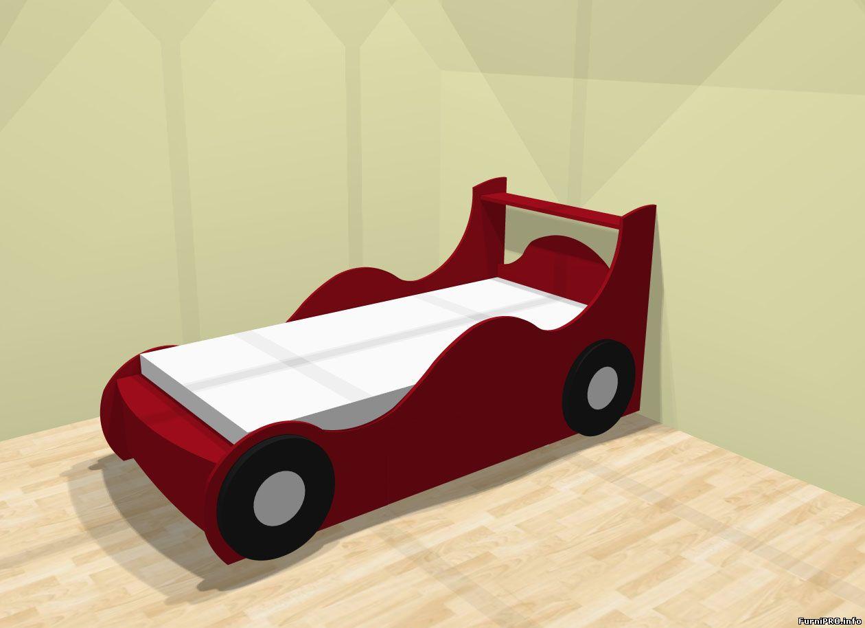 Детская кровать своими руками чертежи фото лдсп
