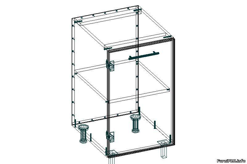 3d модели кухонной мебели