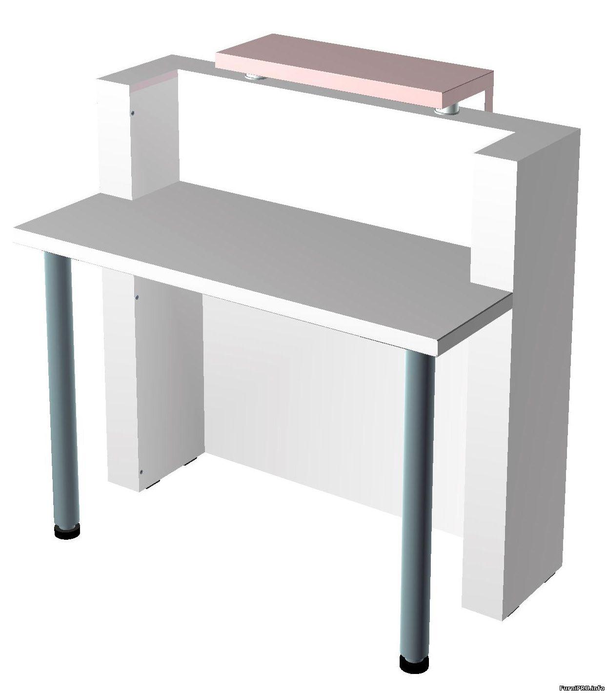Рецепшн — 3d модель — Woody — Библиотека моделей мебели — Скачать модели чертежи мебели и фурнитуры — Ме