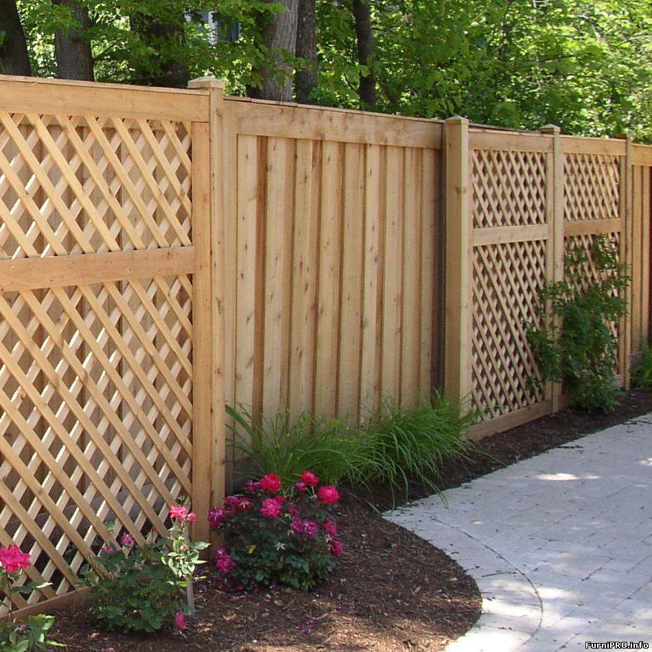 Как выбрать дачный забор — Ландшафт — На участке — Мебель и интерьер — Мебель и интерьер своими руками